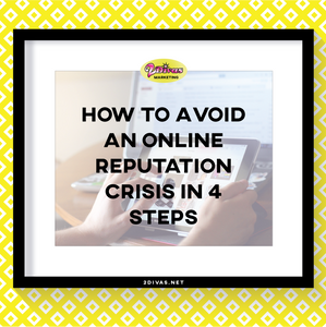 How to avoid an online crisis in 4 steps via @2divasmarketing