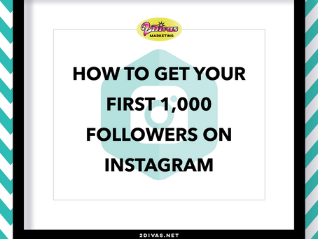 How To Get Your First 1,000 Followers On Instagram (Infographic)