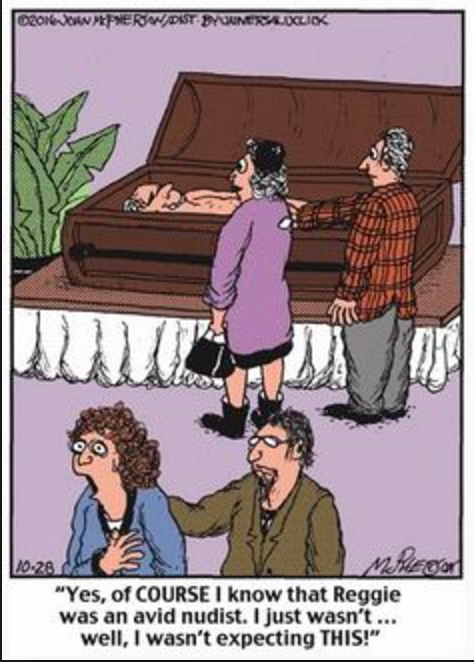 Funeral Humor