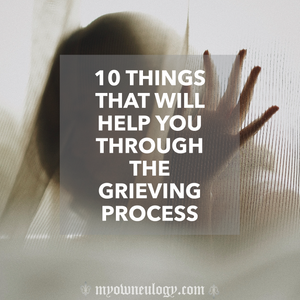 10 Things You Can Do To Cope With Grief Via @MyOwnEulogy
