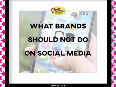 What Brands Should NOT do on Social Media [infographic]