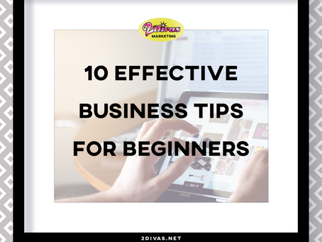 10 Effective Business Tips for Beginners