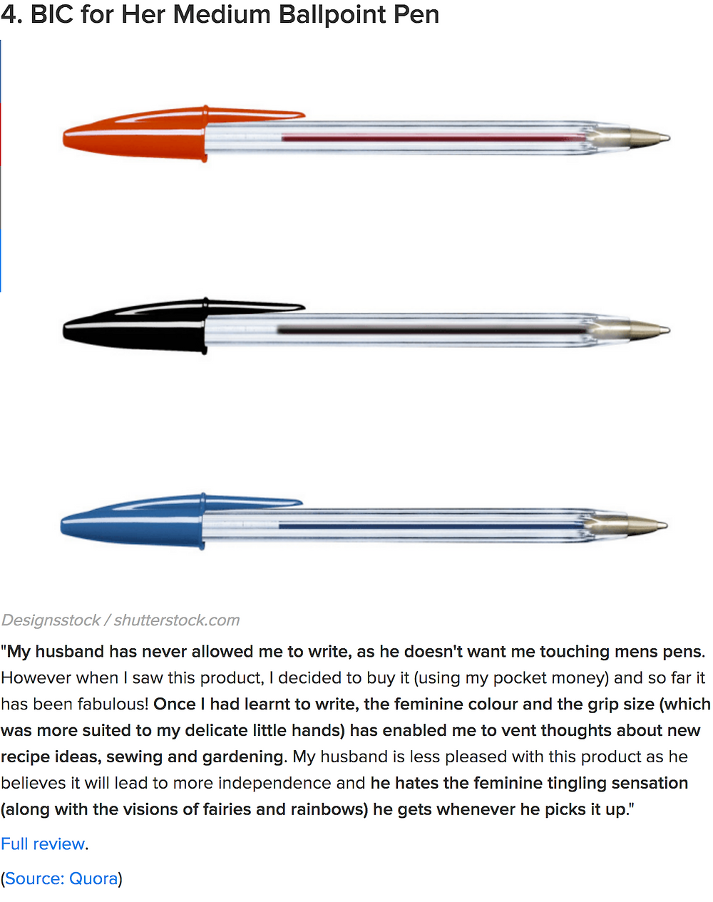 bic-pens-amazon-review-funny
