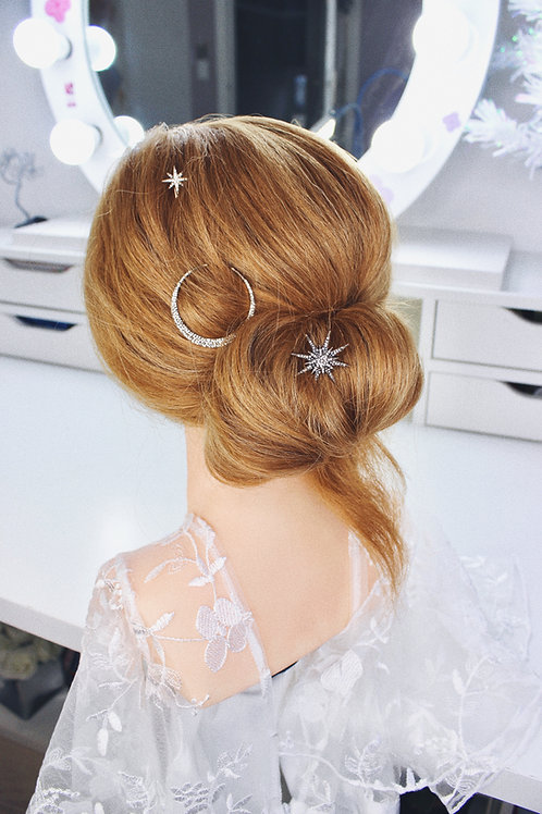LUNA BRIDAL HAIR PINS