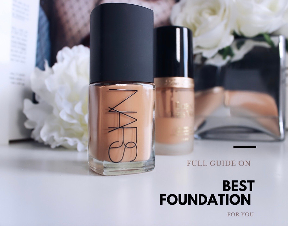 MAKEUP ARTISTS'S TIPS : HOW TO CHOOSE BEST FOUNDATION FOR YOU