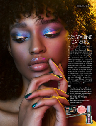 CREATIVE PUBLISHED MAKEUP ARTIST IN LONDON
