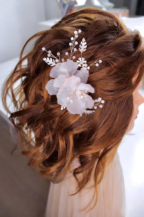 ROSA FLOWER HAIR PINS
