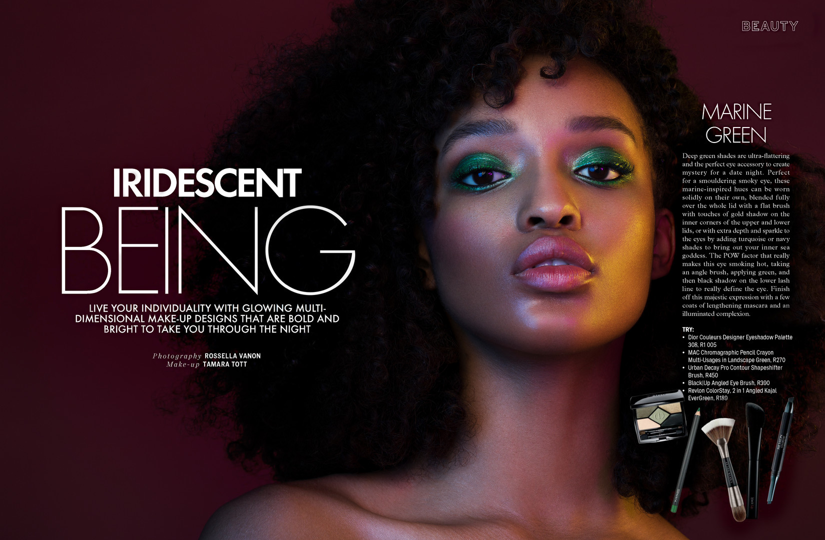 PUBLISHED MAKEUP ARTIST ANDHAIR STYLIST