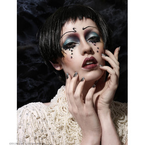 New beauty editorial for Style Noir Magazine: The Frontier