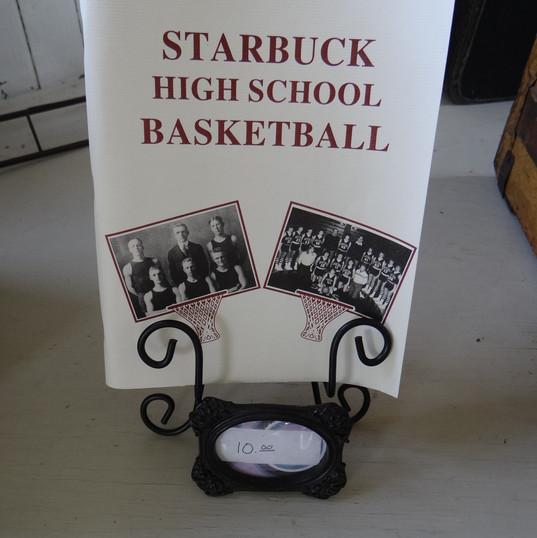 Starbuck High School Basketball Book