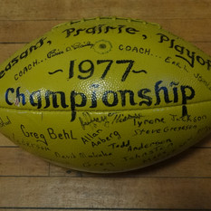 1977 Starbuck Champion football