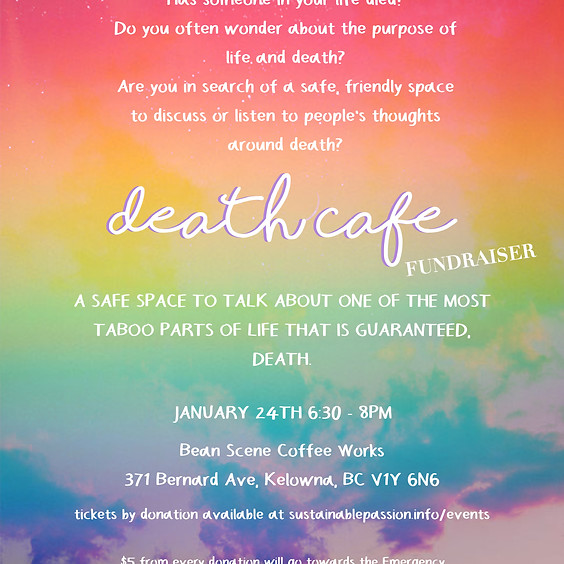 Death Cafe + Fundraiser for the Australian Wildfires