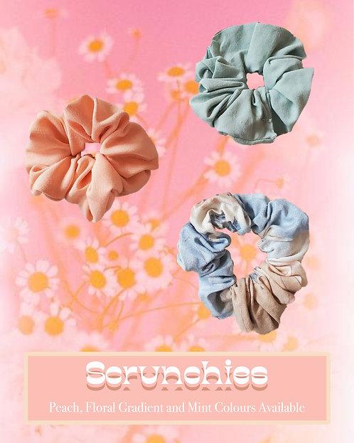 Large Upcyled Scrunchie