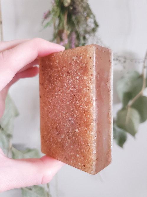 Zero Waste Vanilla Oatmeal Soap