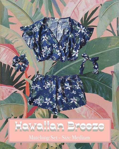 Hawaiian Breeze - 4 Piece Matching, Upcycled, and Handmade Clothing Set
