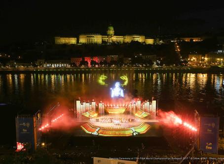 《SpotMe》LancelotとSpotMe、第17回世界水泳選手権 in ブダペストでダイナミックに舞う!