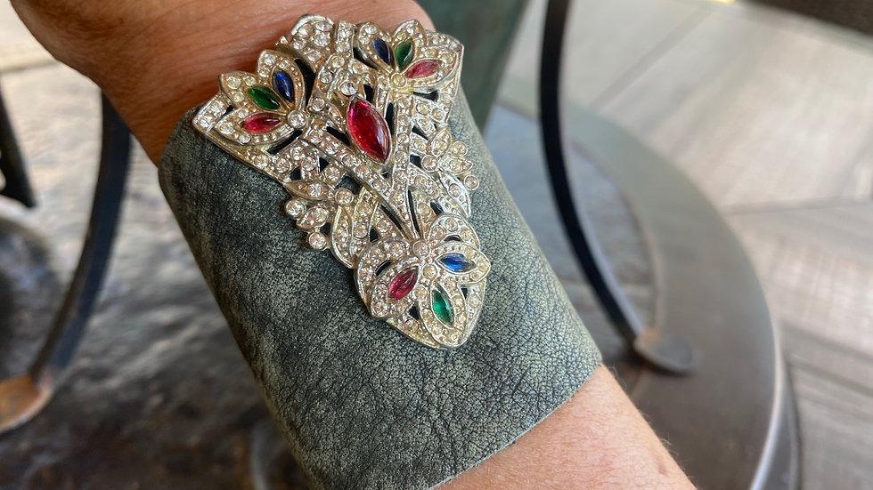 Edgy Vintage Cuff Bracelet