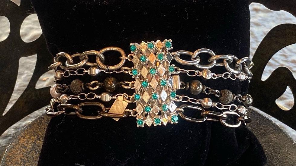 Stunning Multi Chain Bracelet