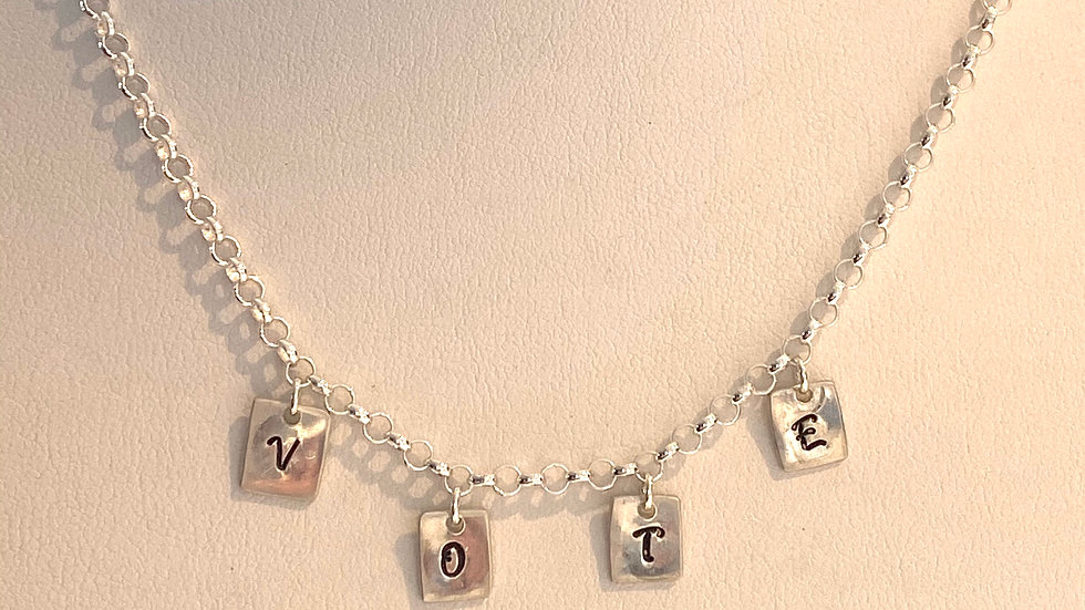 """VOTE"" Necklace"