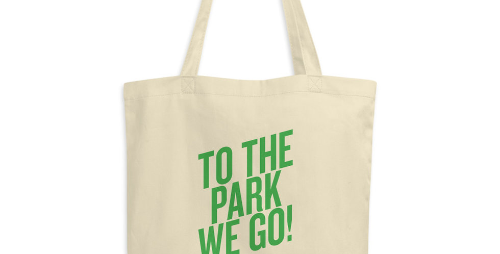 """To The Park We Go!"" Tote"