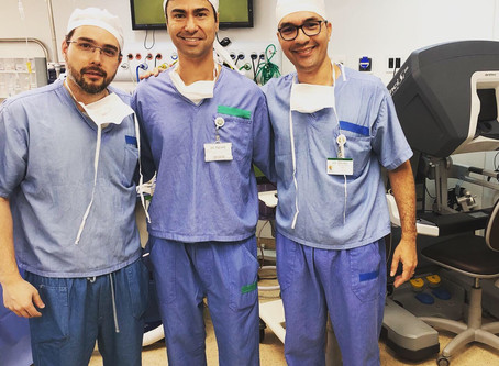 Time da Cínica Uro Onco - Prostatectomia Robótica