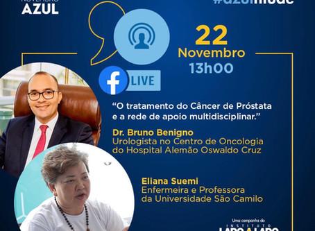 Live sobre câncer de próstata