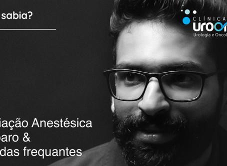 Hoje é o dia do Anestesiologista. Parabéns!