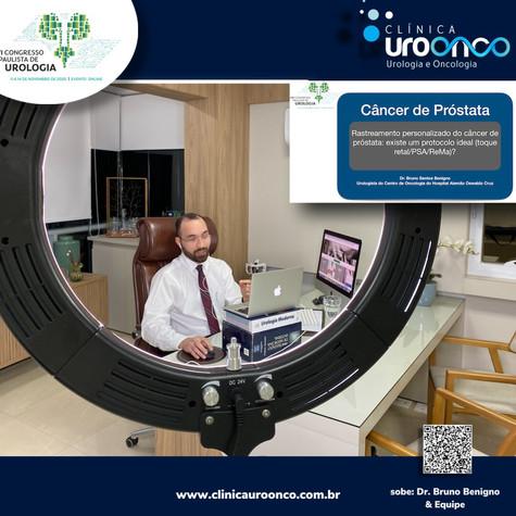 Aula no Congresso Paulista de Urologia 2020 - Edição Virtual
