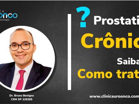 Prostatitte crônica. Como tratar?