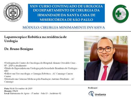Cirurgia laparoscópica e robótica na residência de urologia