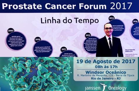 2017 - Prostate Cancer International Forum - Rio de Janeiro