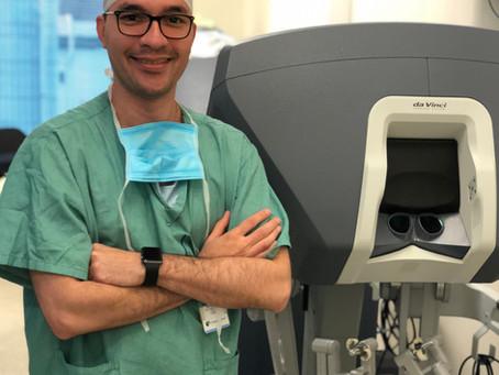 Cirurgia da próstata com robótica