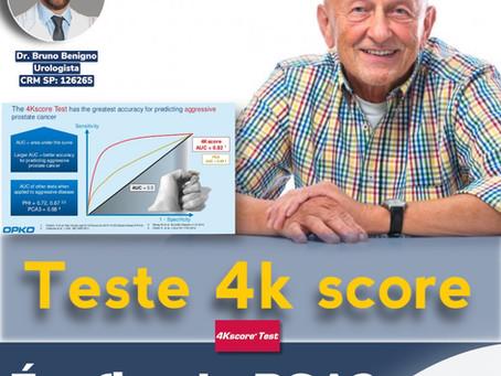Teste 4K score. É o fim da era do PSA para detectar o Câncer de Próstata?
