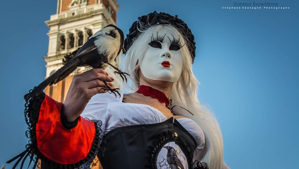 Carnaval, Venise, Italie.