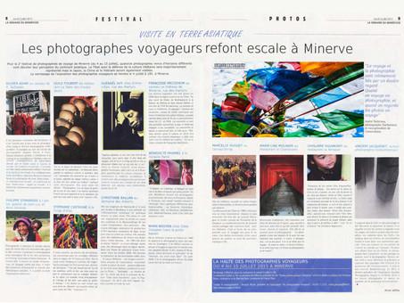 Festival des photographes voyageurs de Minerve 2015