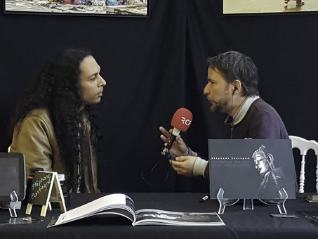 Interview Radio RCF Nice Côte d'Azur