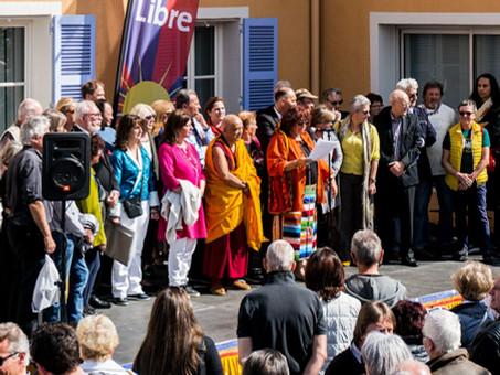 Journées du Tibet Libre de Villeneuve-Loubet