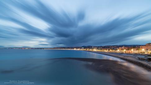 Promenade des Anglais. Nissa la bella. France