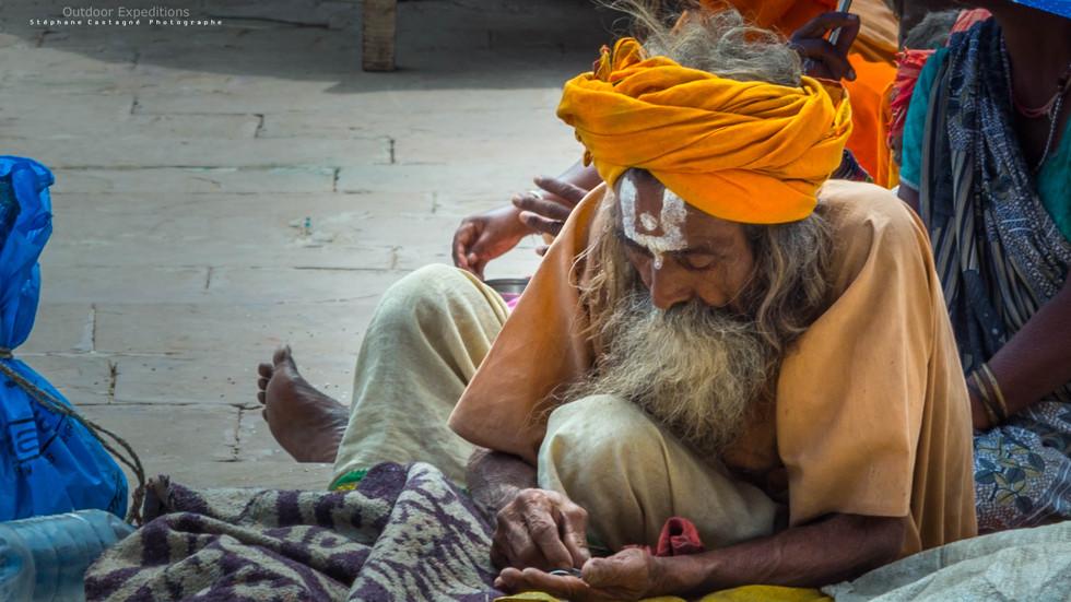 Indien. Varansi, Inde
