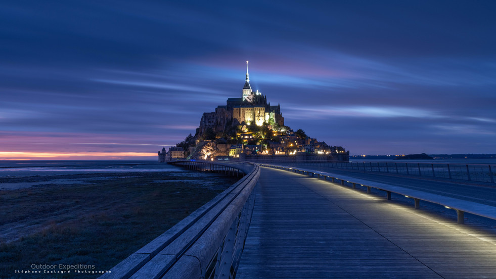Le Mont Saint Michel, Normandie, France