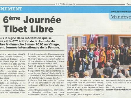 Le Villeneuvois | 6éme Journée du Tibet Libre