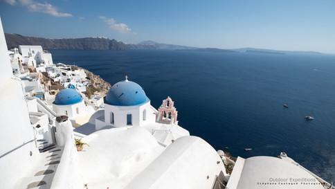 Oia. Ile de Santorin. Grèce