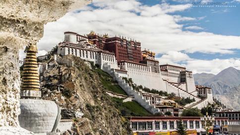 Palais du Potala. Lhassa, Tibet