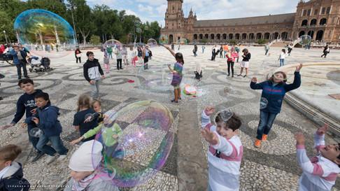Plaza de España. Seville. Espagne