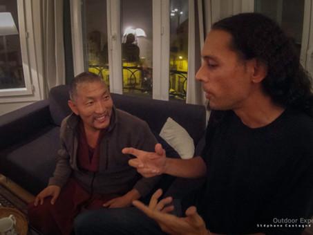 Rencontre avec le moine Tibétain Lobsang Jamyang