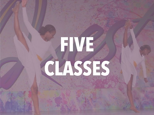 Five Classes Monthly