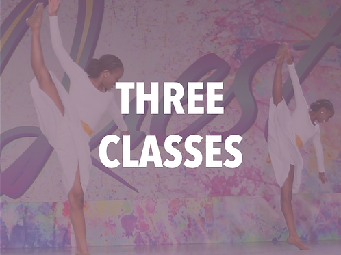 Three Classes Monthly