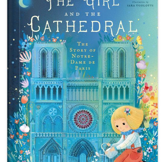 The Girl and the Cathedral . Copyrigthed.jpg