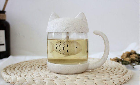 cat tea infuser