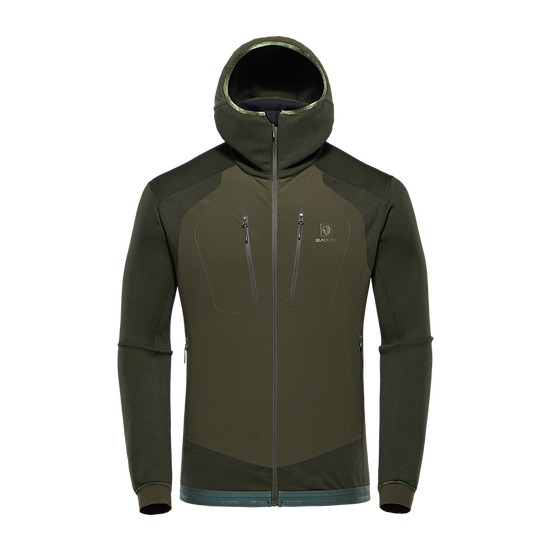 BLACKYAK MISHIMA HOODY RIFLE GREEN